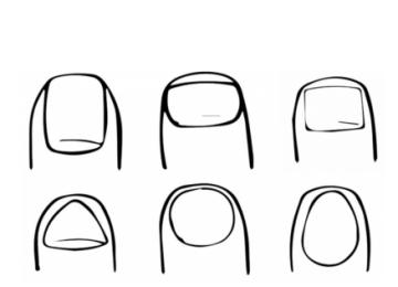qq画图红包指甲怎么画