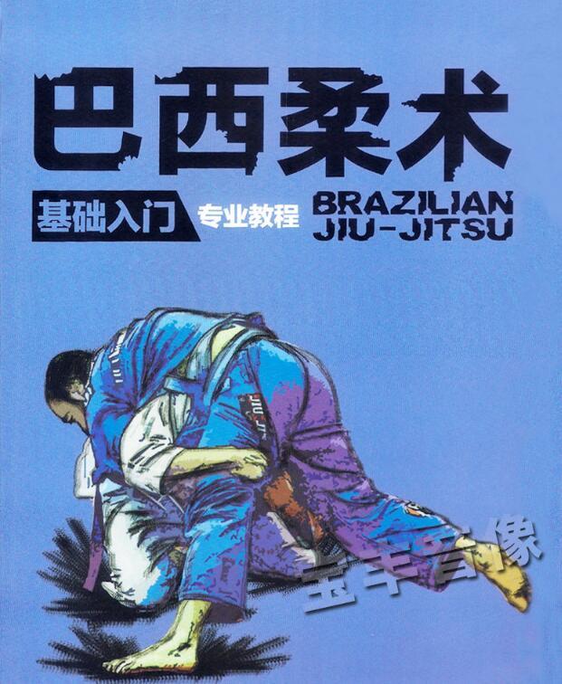 巴西柔术教程 防身摔跤+扫技+逃脱+锁头