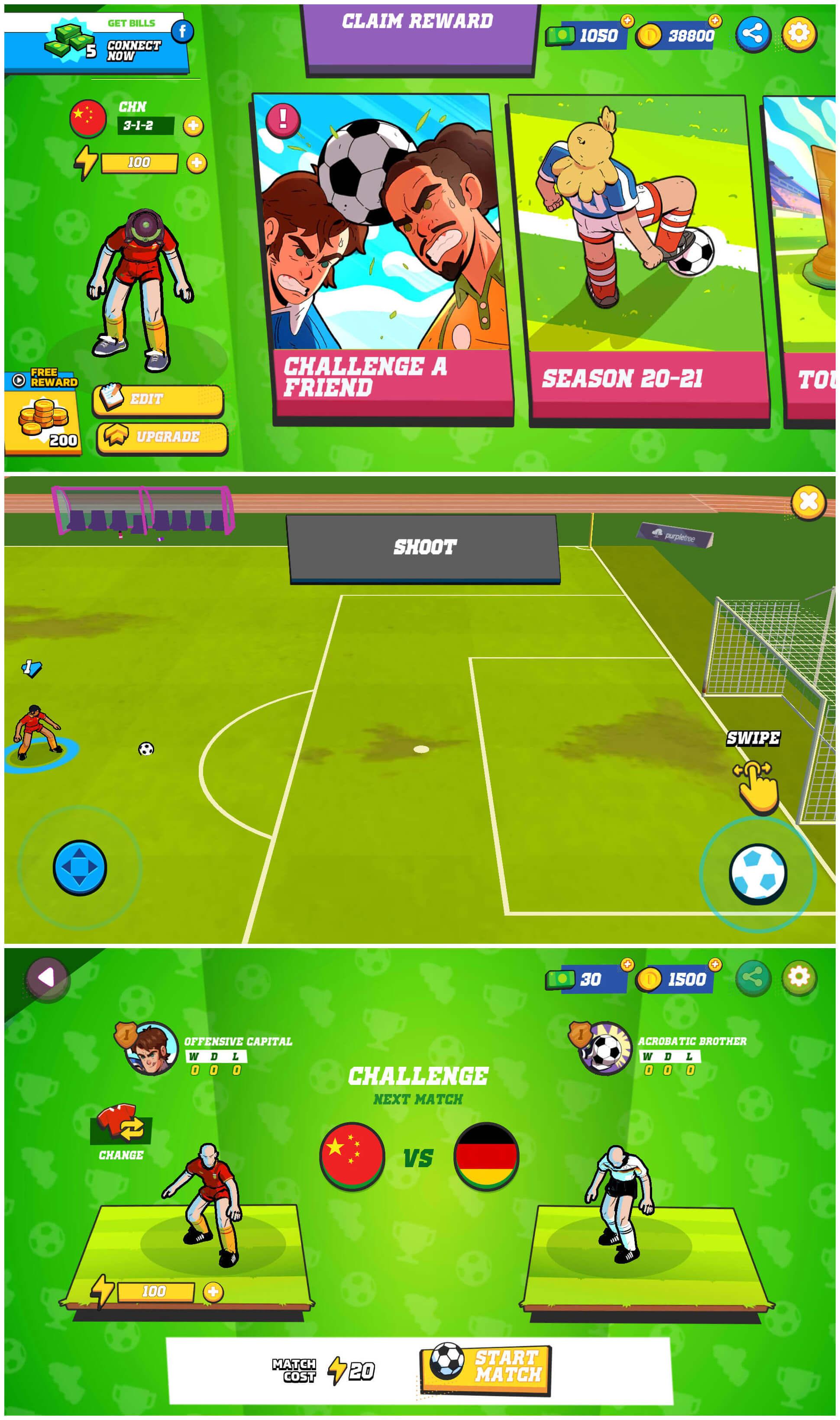 足球传奇截图1