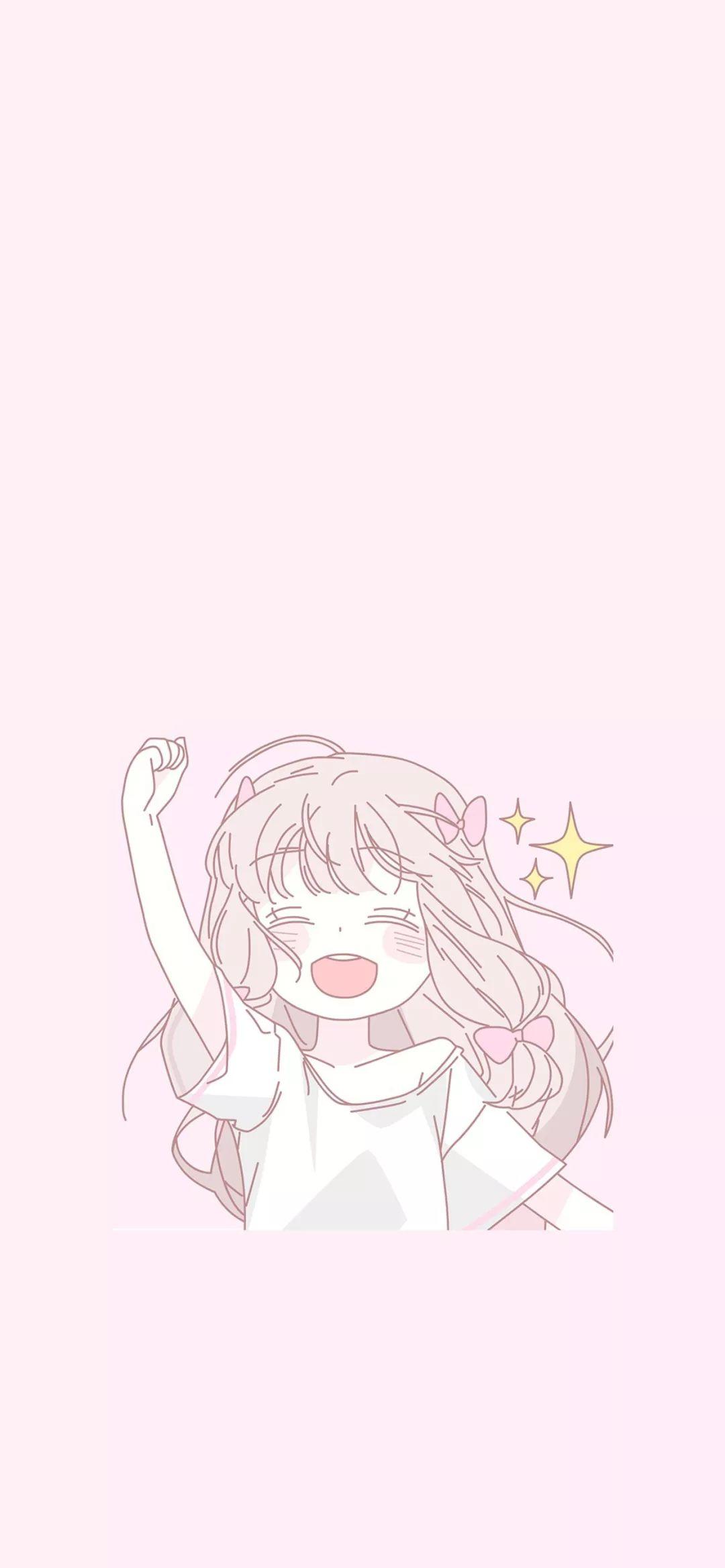 壁纸 | 粉色少女心系列壁纸~