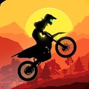 日落越野摩托