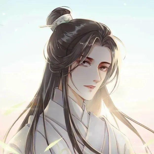 二哈和他的白猫师尊头像 想对全世界说晚安 恰好你就是全世界~