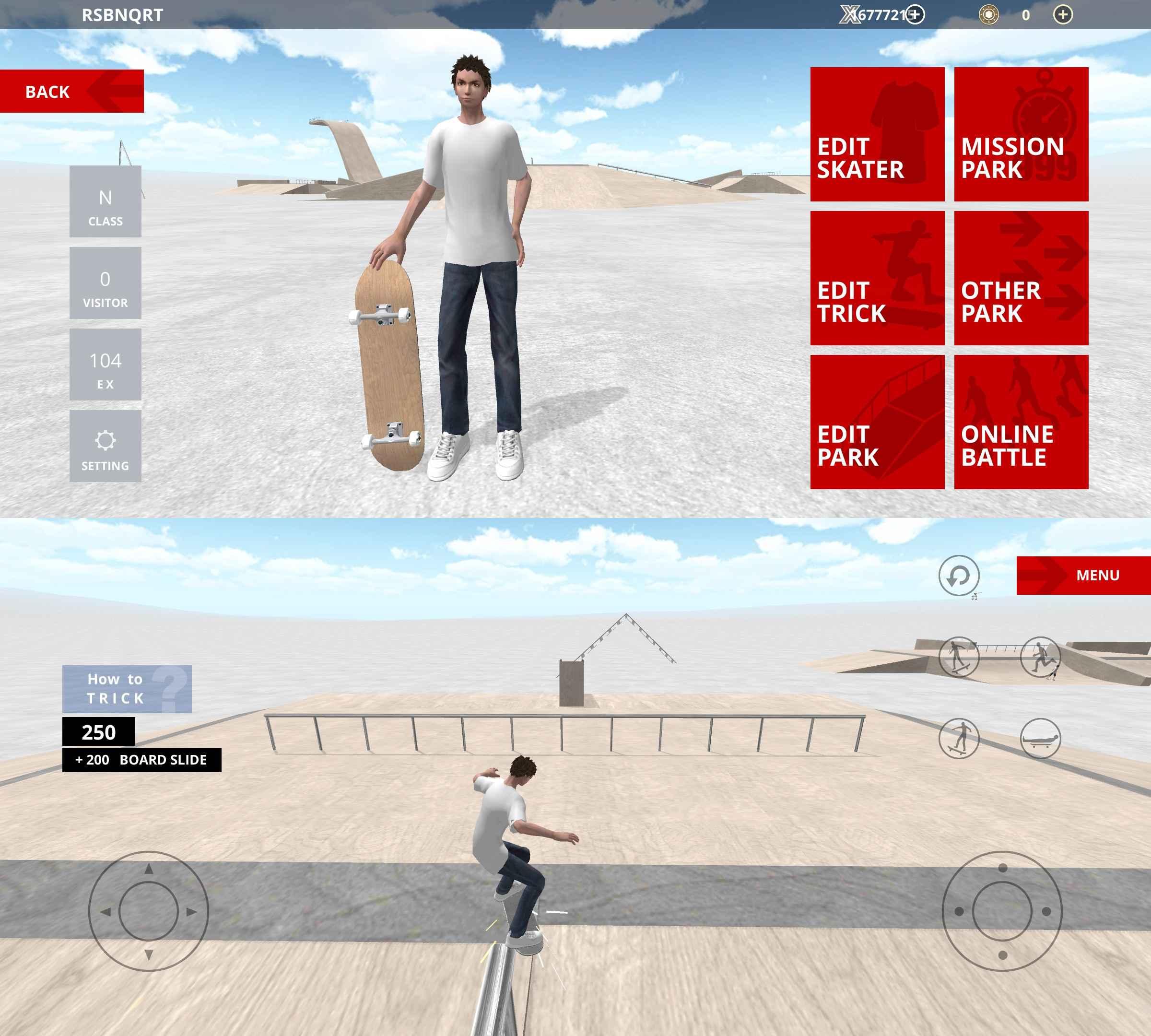 滑板空间截图1